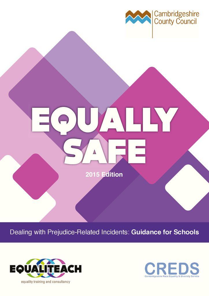 thumbnail of EQUALLY SAFE 2015