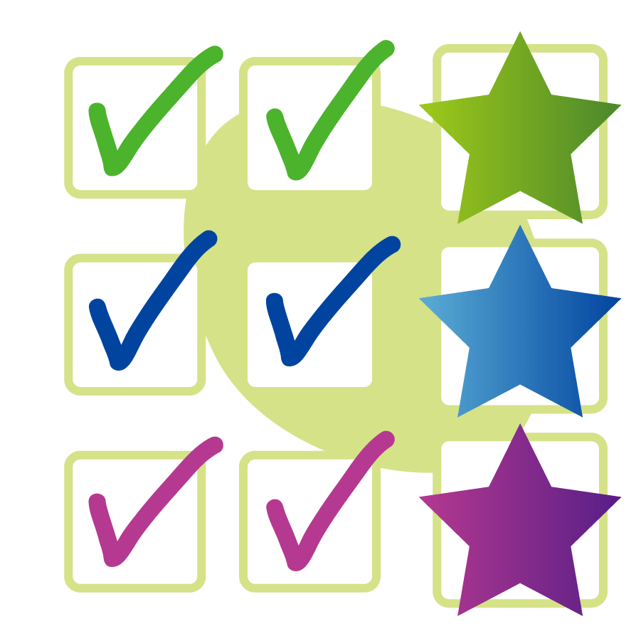 equalities award ticks