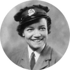First woman to serve in the RAF; corporal and leading aircraftwoman