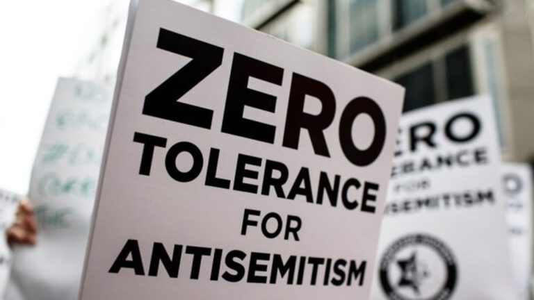 Zero Tolerance for Antisemitism