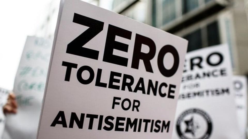 Zero Tolerance for Antisemitism